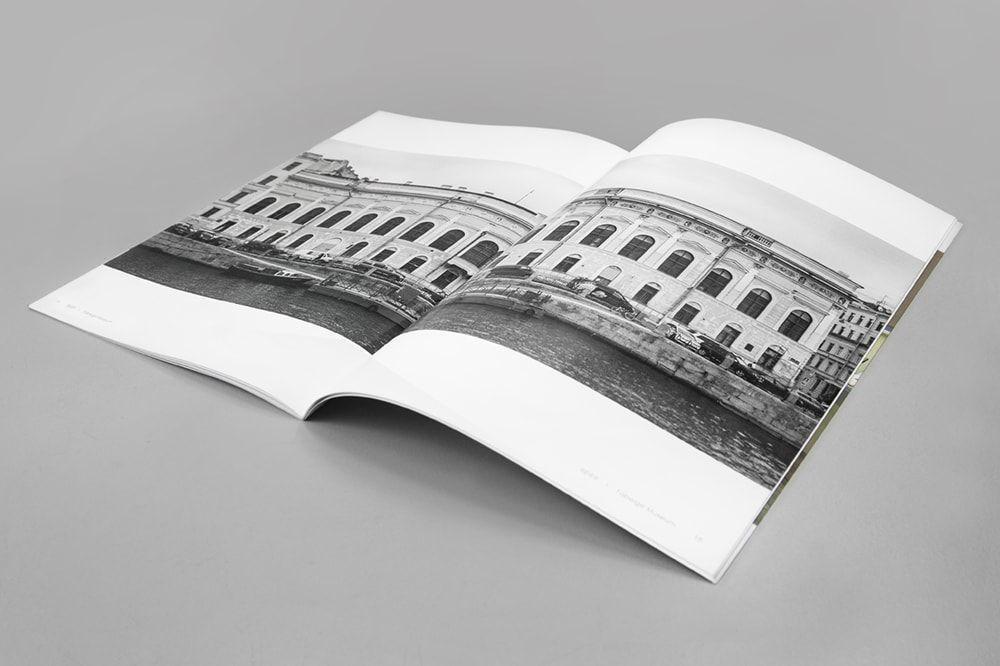 folder czarno bialy - Katalogi, broszury, foldery