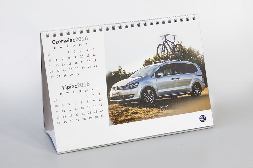 kalendarz biurkowy firmowy - Nowa Strona Główna