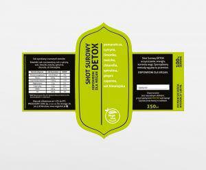 Etykieta samoprzylepna Vegeshot 2w1 przod i tyl zywy zielony  300x248 - Etykiety, banderole