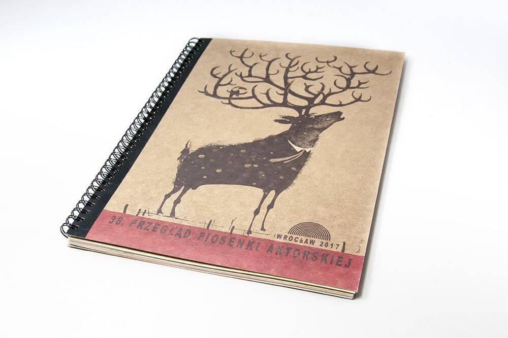 Katalog A4 w oprawie spiralowanej surowy papier vintage program PPA okladka min 1 - Katalogi, broszury, foldery