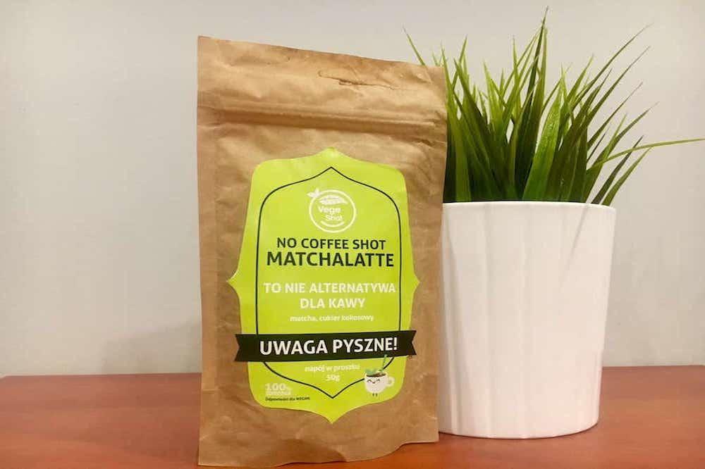Etykieta samoprzylepna nocoffee wycinana zielona - Strona Główna