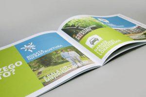 Katalog firmowy A4 poziomy deweloper oprawa zeszytowa zywekolory zielony 300x200 - Katalogi, broszury, foldery