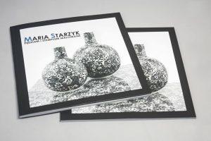 Katalog w oprawie miekkiej klejonej ceramika boleslawiecka