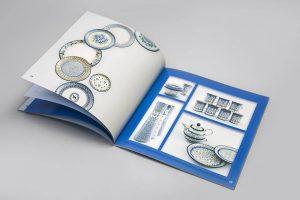 Katalog firmowy prezentujacy ceramike boleslawiecka