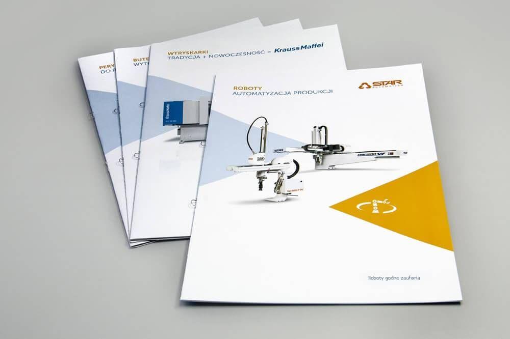 Katalogi foldery firmowe seria